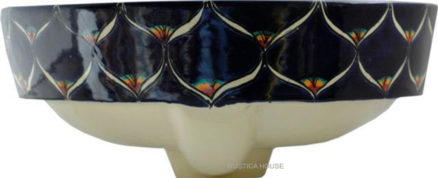 country majolica bath sink
