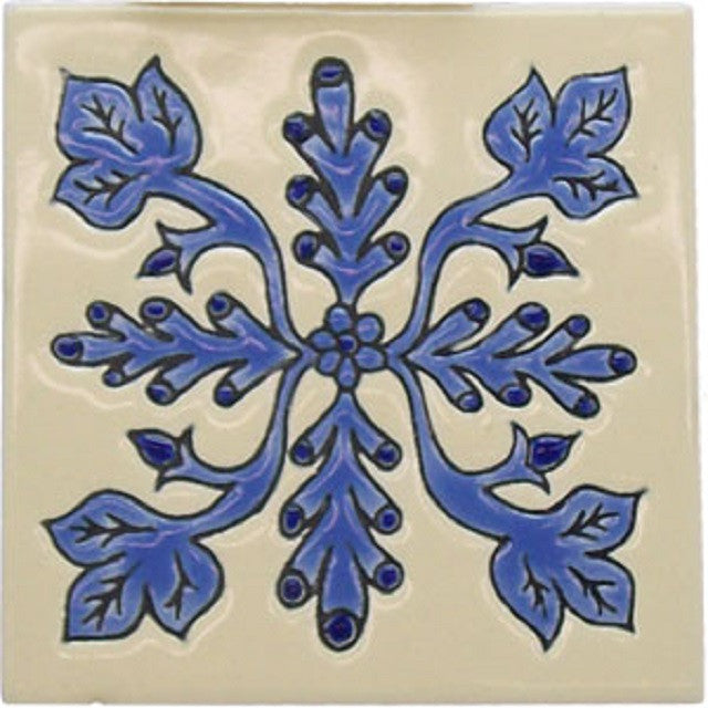 decorative relief tile