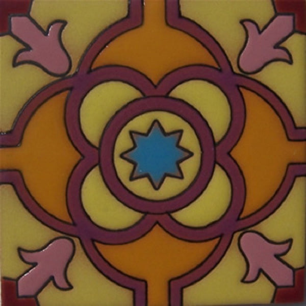 relief tile original purple