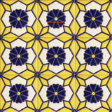 high relief tiles beautiful cobalt