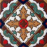 relief tile designer brown