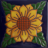 relief tile original yellow