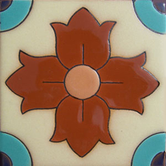 traditional relief tile