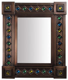elaborated tin mirror