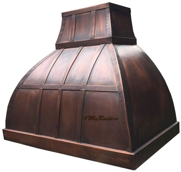 made to order cooker copper range hood