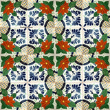 traditional terracotta talavera tile