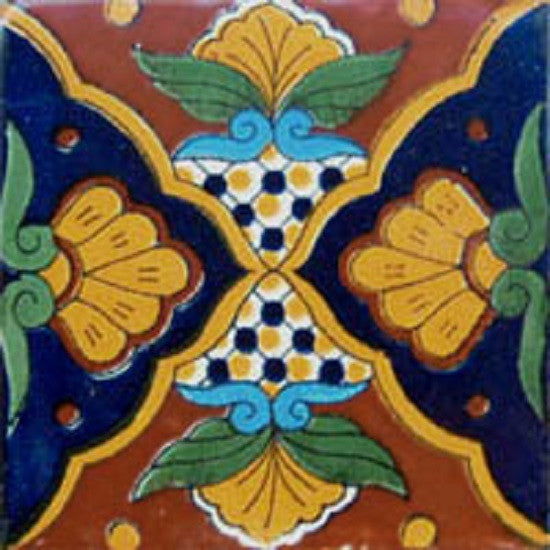 colonial yellow mexican ceramic tile