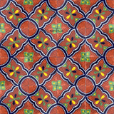 traditional blue terracotta talavera tile
