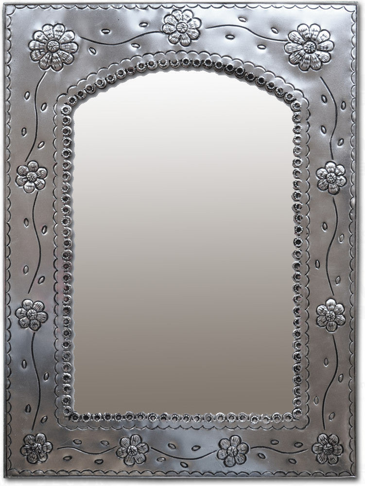 country style tin mirror