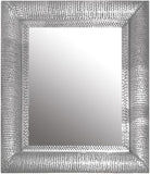 rustic tin mirror