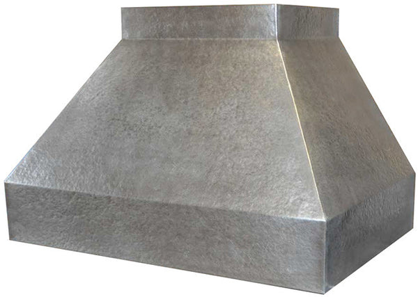 custom hammered zinc cooker hood