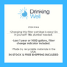 Body Glove BG-1000C Replacement Water Filter Cartridge (WI-BG1000C) - Drinking Well Co.