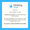 Environmental Water Systems Essential Max Flow Replacement Filter (F.SET.SS-2.5) - Drinking Well Co.