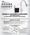 Water Inc. WI-FAOZONE2 Ozone Two Faucet