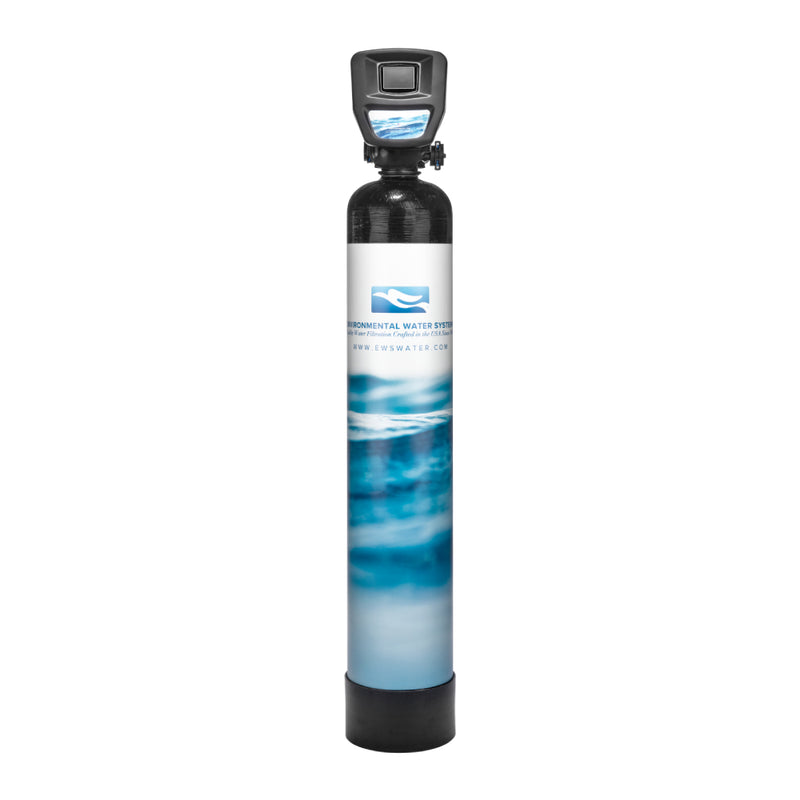 Environmental Water Systems 1054-P-A Iron, Manganese, and Hydrogen Sulfide Removal Whole House Filtration System - Drinking Well Co.