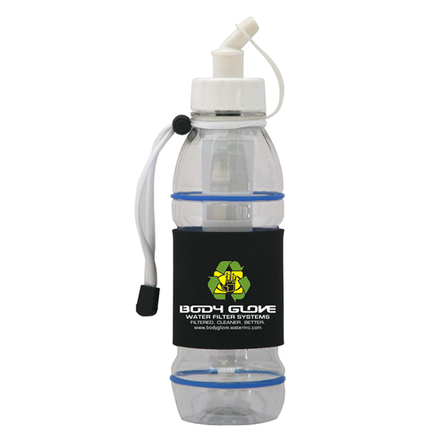 Body Glove Portable Water Filter Bottle - 20 Oz.