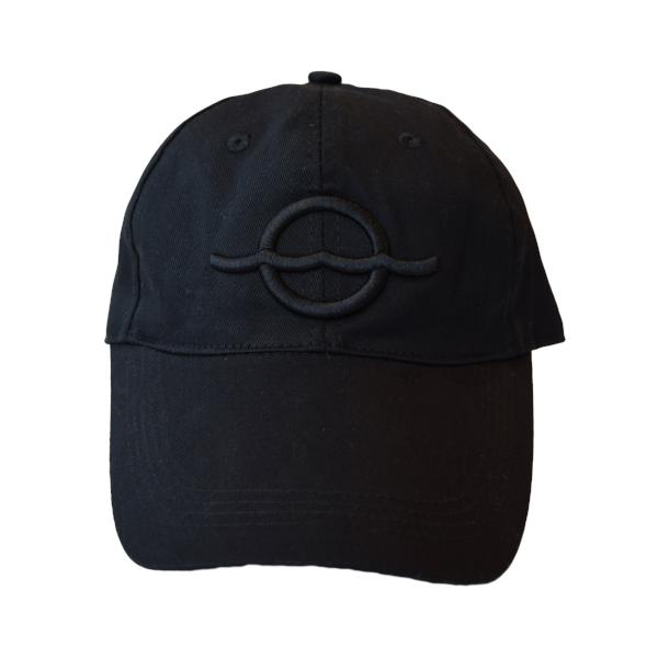 Embroidered Dad Hat – Black Logo