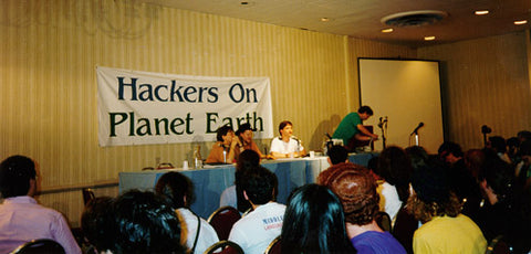 Hackers On Planet Earth (1994) USB Flash Drive