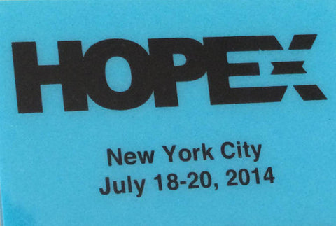 "HOPE X (2014): ""Keynote Address - Daniel Ellsberg"" (DVD)"
