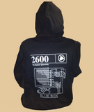 2600 Blue Box Sweatshirt (black pullover)