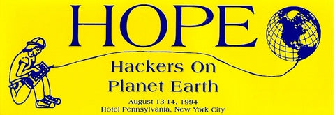 "Hackers On Planet Earth (1994): ""HOPE Opening Address"" (DVD)"