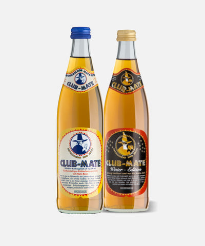 Combo Pack of Club-Mate Original and Winter Edition (12 pack)