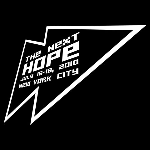 "The Next HOPE (2010): ""Net Wars Over Free Speech, Freedom, and Secrecy or How to Understand the Hacker and Lulz Battle Against the Church of Scientology"" (DVD)"