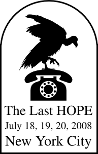 "The Last HOPE (2008): ""Keynote Address - Steven Levy"" (DVD)"