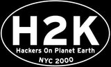 "H2K (2000): ""Hacktivism - Terrorism or A New Hope?"" (DVD)"