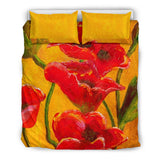 poppies- bedding set