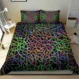 abstract lines- bedding set