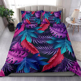 Tropical leaves- Bedding set