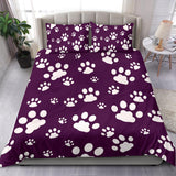Paw print- Bedding set