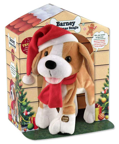"12"" Barney the Christmas Beagle"