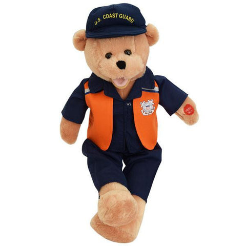 "American Heroes Coast Guard Bear Sings: ""Semper Paratus"""