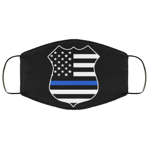 thin blue line batch Fourth Face Mask