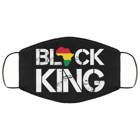 black king Fourth Face Mask