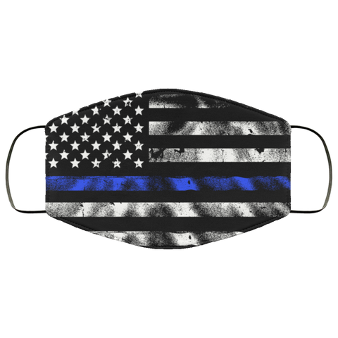 police flag Second batch mask