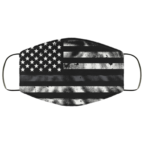 flag correction officer Third Face Mask