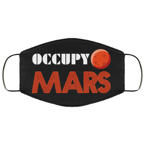 Occupy Mars Shirt Second batch mask