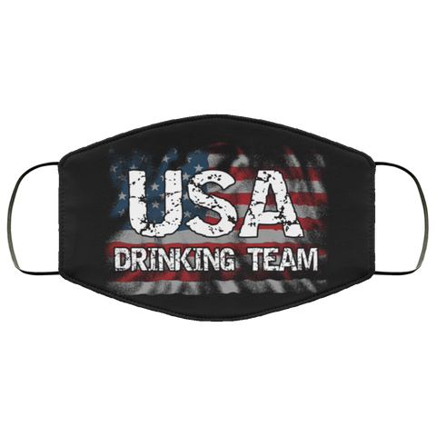 usa drinking team Third Face Mask