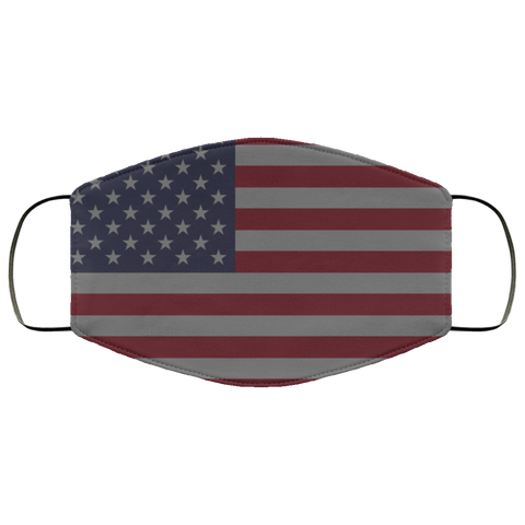 american flag Fourth Face Mask