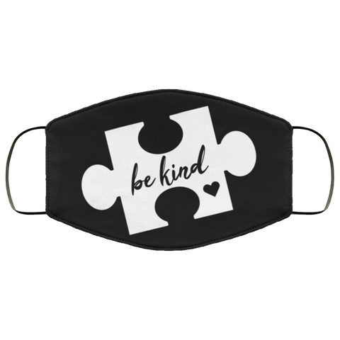be kind Third Face Mask