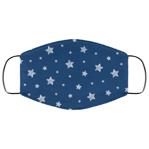 stars face mask blue Second batch Face Mask