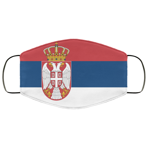 Serbia face mask