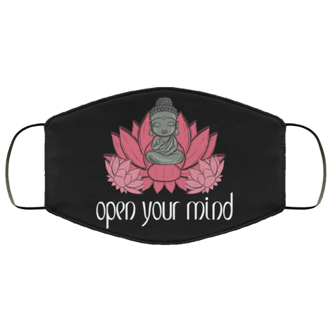 open your mind Fourth Face Mask