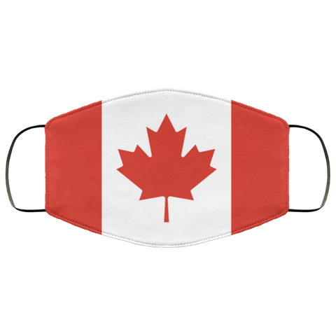 Canada flag face mask