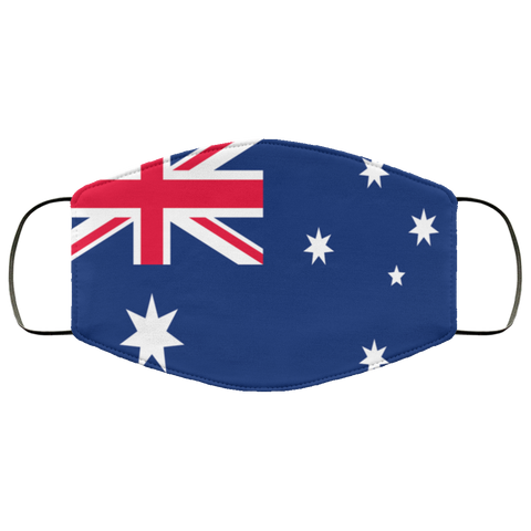 Etsy - Custom Cat Australia flag face mask