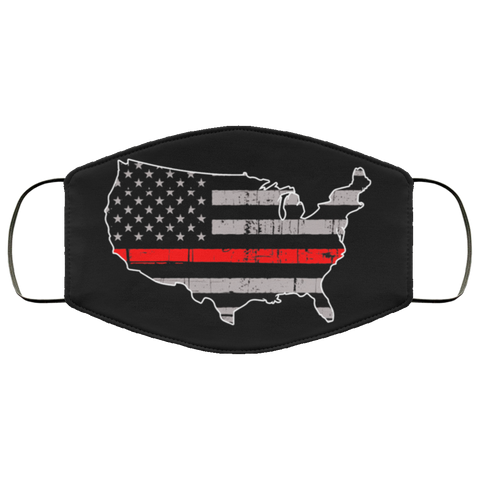 thin red line usa glah Second batch mask