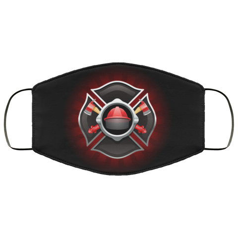 Firefighter Fourth Face Mask